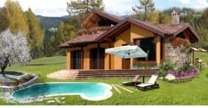 Casa legno terreno agricolo