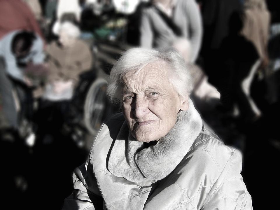 La poltrona per gli anziani